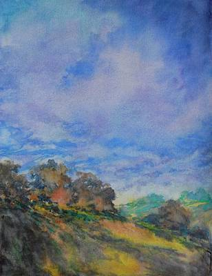 Hill Country Abstract No 7 Original