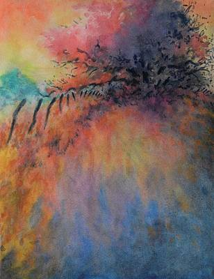 Hill Country Abstract No 9 Original by Virgil Carter