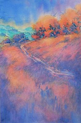 Hill Country Back Road No 2 Art Print by Virgil Carter