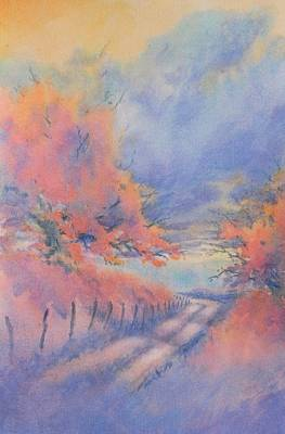 Hill Country Back Road No 3 Art Print