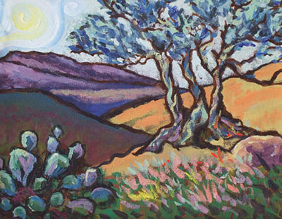 Hill Country Dusk Art Print