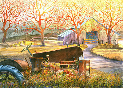 Painting - Hill Country Memories by Howard Dubois