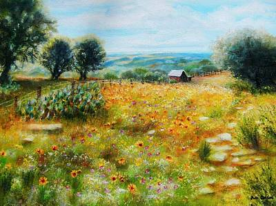 Painting - Hill Country Mile by Patti Gordon