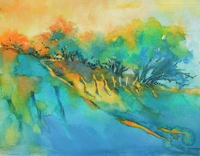 Texas Hill Country Painting - Hill Country Morning Breaks by Virgil Carter