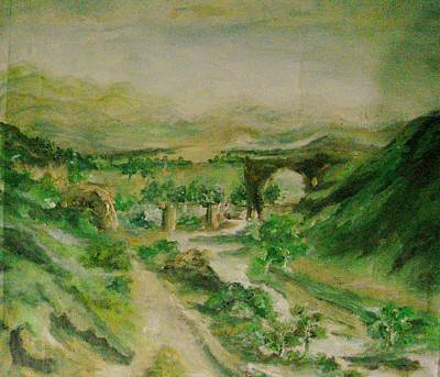 Painting - Hill Country by Rushan Ruzaick