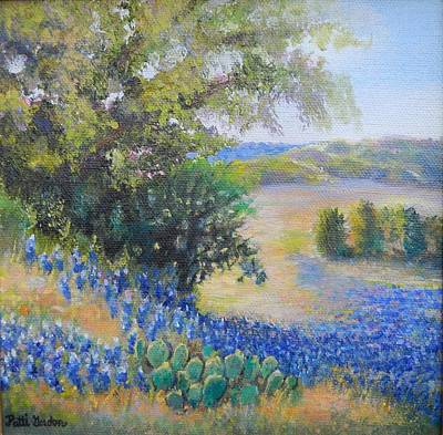 Painting - Hill Country View by Patti Gordon