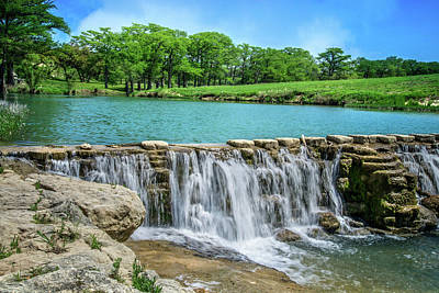 Photograph - Hill Country Tranquility by Lynn Bauer