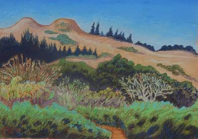 Painting - Hill by Gary Coleman