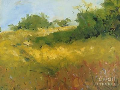 Painting - Hill In Richmond by Karen Carmean