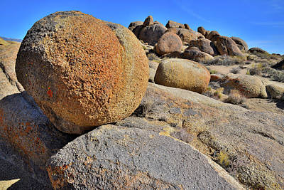 Photograph - Hill Of Boulders In The Alabama Hills by Ray Mathis