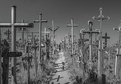 Photograph - Hill Of Crosses  by Andrew Matwijec