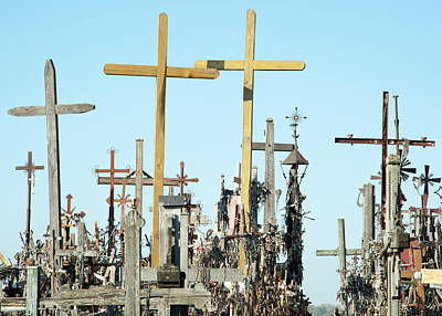 Photograph - Hill Of Crosses by Ramunas Bruzas