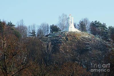 Human Sacrifice Art Photograph - Hill Of Three Crocia In Vilnius by Angelo D'Amico
