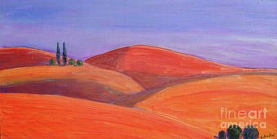 Painting - Hill Tops by Lilibeth Andre