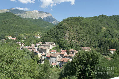 Photograph - Hill Town And Mount II by Fabrizio Ruggeri