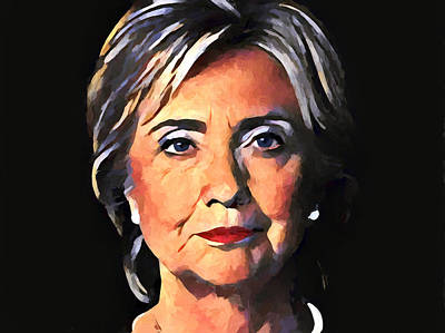 Politicians Royalty-Free and Rights-Managed Images - Hillary Clinton by Dan Sproul