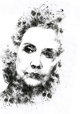 Racism Digital Art - Hillary Clinton by Defri Andreas