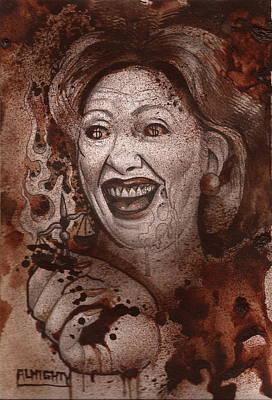 Hillary Clinton Original by Ryan Almighty