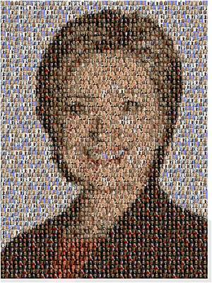 Photograph - Hillary Mosaic by Paul Van Scott