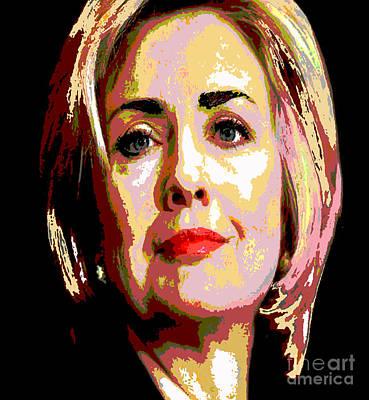 Painting - Hillary by Saundra Myles