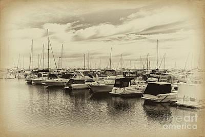 Hillarys Boat Harbour, Western Australia Art Print by Elaine Teague