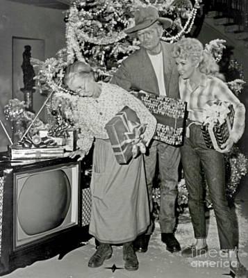 Irene Ryan Photograph - Hillbilly Christmas  by Pd