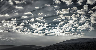 Photograph - Hills And Sky by Don Schwartz