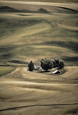 Photograph - Hills And Swirls 2 by Don Schwartz