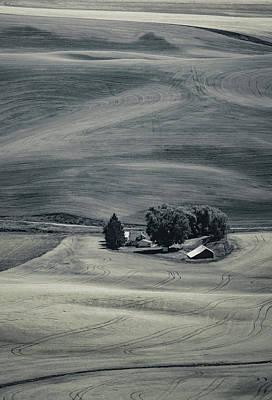Photograph - Hills And Swirls by Don Schwartz