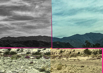 Photograph - Hills Hills Desert Desert by Stan  Magnan