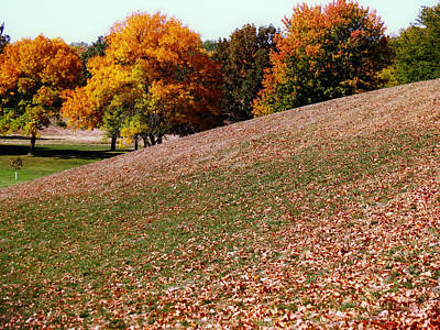 Photograph - Hills In The Fall by Kyle West