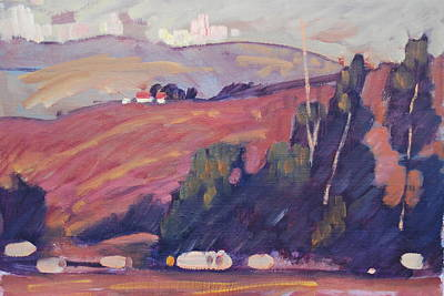 Painting - Hills Of California by Len Stomski