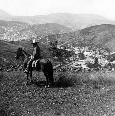 Mexicano Photograph - Hills Of Guanajuato - Mexico - C 1911 by International  Images