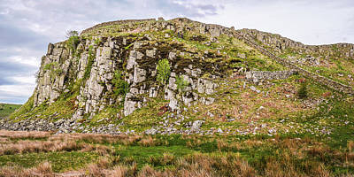Photograph - Hills Of Hadrians Wall England by Lexa Harpell