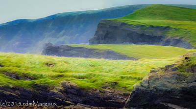 Portmagee Wall Art - Photograph - Hills Of Ireland  by Margaux Dreamaginations