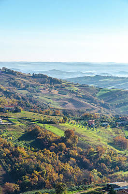 Photograph - Hills Of Italy - Guardiagrele by Andrea Mazzocchetti