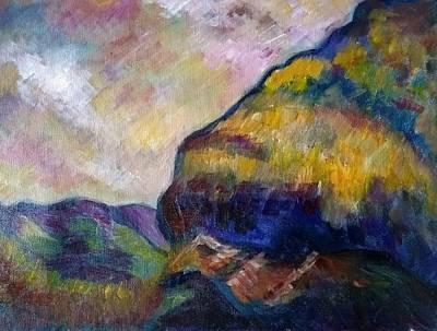 Hills Of Jamaica Art Print by Kirkland  Clarke
