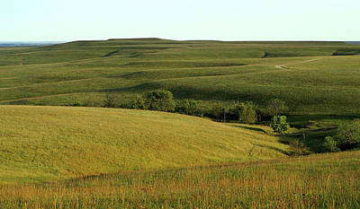 Hills Of Kansas Art Print