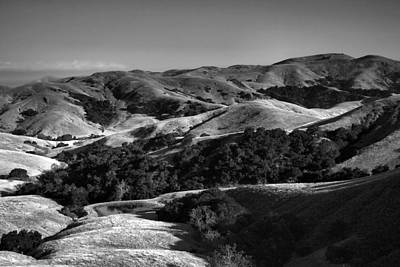 Hills Of San Luis Obispo Art Print by Steven Ainsworth