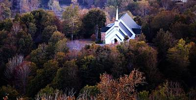 Photograph - Hills Of Sugar Mountain Church by Mindy Newman