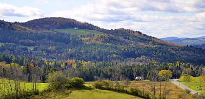 Photograph - Hills Of Vermont by Corinne Rhode