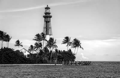 Photograph - Hillsboro Inlet Lighthouse - 2 by Frank J Benz