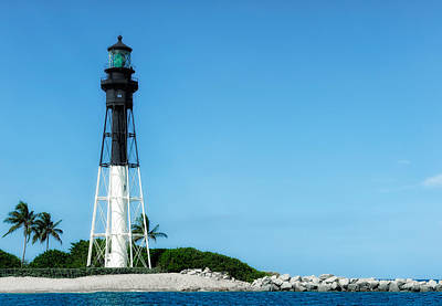 Photograph - Hillsboro Inlet Lighthouse - 4 by Frank J Benz