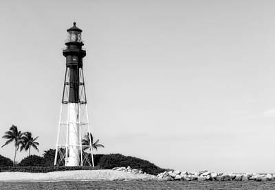 Photograph - Hillsboro Inlet Lighthouse - 5 by Frank J Benz