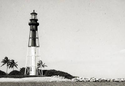 Hillsboro Inlet Lighthouse - 6 Art Print by Frank J Benz