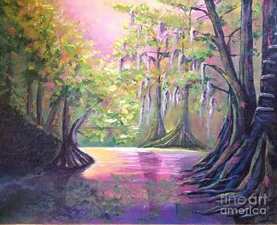 Withlacoochee River Nobleton Florida Art Print