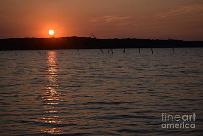 Photograph - Hillsdale Lake Sunset by Mark McReynolds