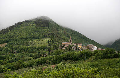 Photograph - Hillside Italian Village by Andrew Fare