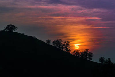 Photograph - Hillside Sunset by Patti Deters