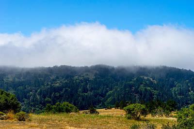 Photograph - Hilltop Fog by Derek Dean